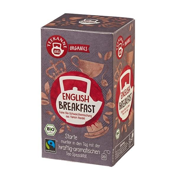 Teekanne Organics English Breakfast - 20 Teebeutel