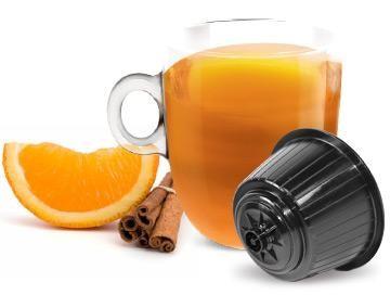 Bonini Tee ARANCIA E CANNELLA / Orange mit Zimt - 8 Teekapseln Dolce Gusto ®*
