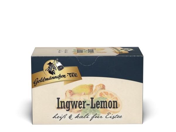 Goldmännchen Tee INGWER-LEMON - 20 Tassenbeutel