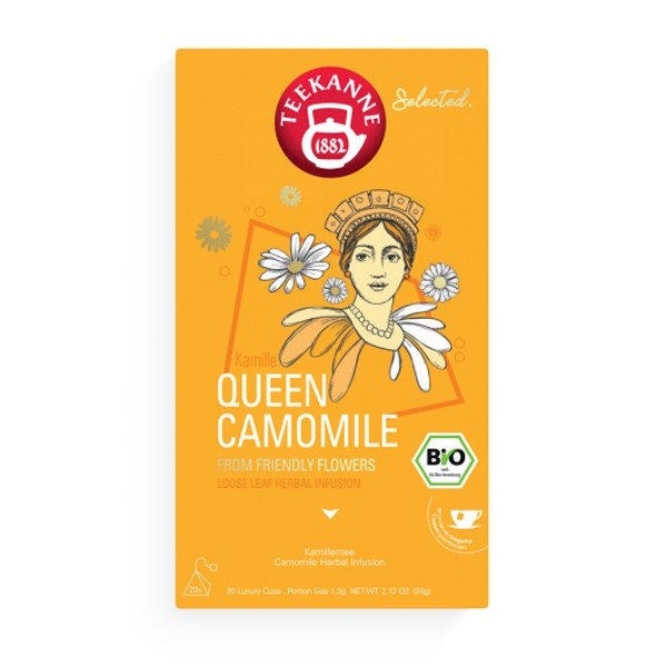 Selected. Queen Camomile Luxury Cup