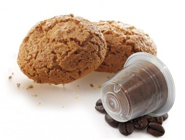 Caffè Bonini AMARETTO - 10 Kompatible Kapseln Nespresso®* - MHD: 18.04.2020