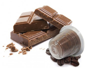 Caffè Bonini Caffè al Cioccolato / Kaffee mit Schokoladenaroma Nespresso®* kompatible Kapseln - MHD: