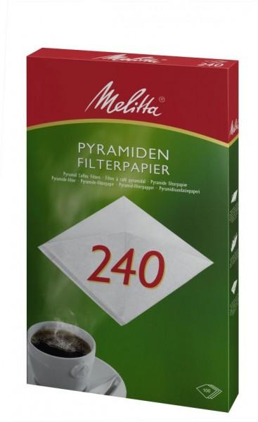 Melitta® Filtertüten 240 (Pa SF 240 G), 100 Stück