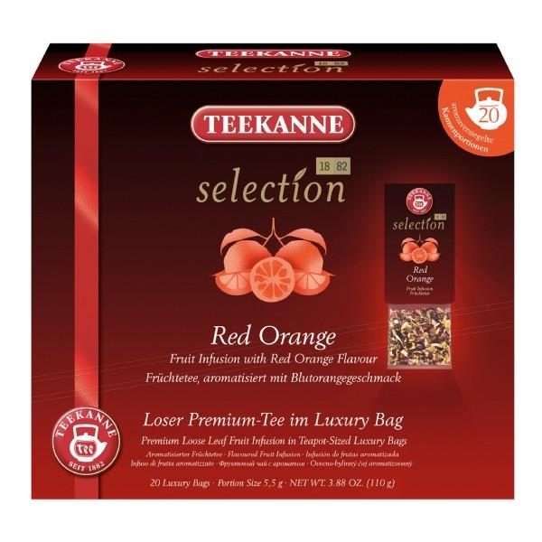 Teekanne Selection Red Orange ** 20 Kannenportionen