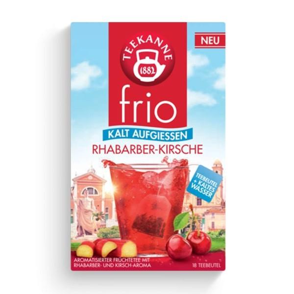 Teekanne FRIO Rhabarber-Kirsche 18 Stück
