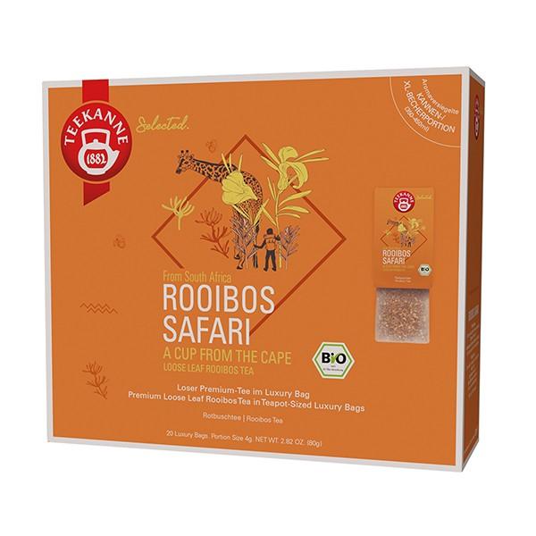 Teekanne Selected Rooibos Safari Luxury Bag - 20 Kannenportionen à 4 g
