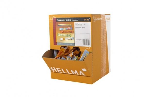 Hellma Feinzucker-Sticks 500 x 4 g