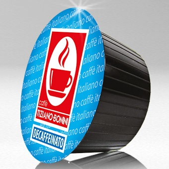 Caffè Bonini DECAFFEINATO - 10 Kompatible Kapseln Dolce Gusto®* - MHD: 30.01.2021
