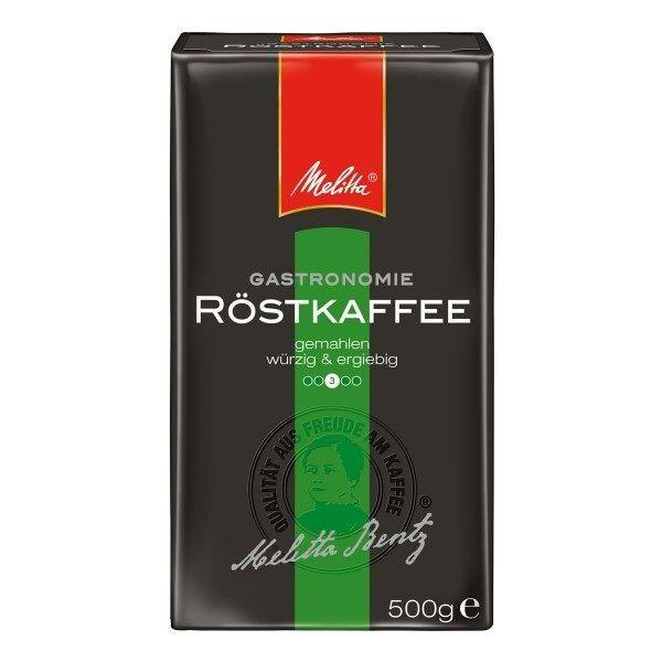 Melitta ® Gastronomie Röstkaffee, würzig ergiebig 500g