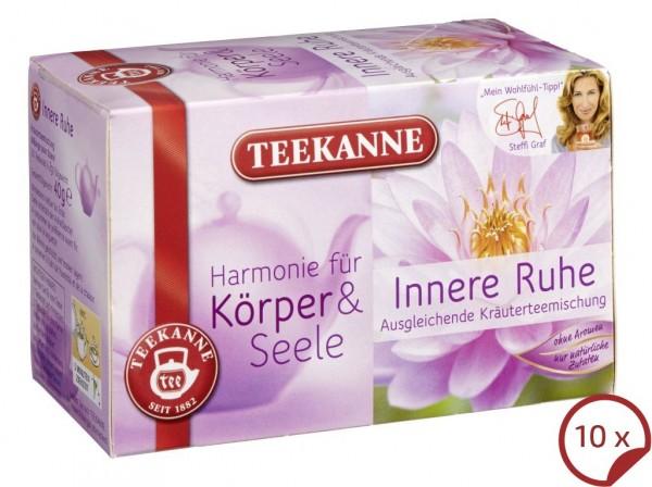 Teekanne Harmonie Innere Ruhe 10 x 20 Beutel