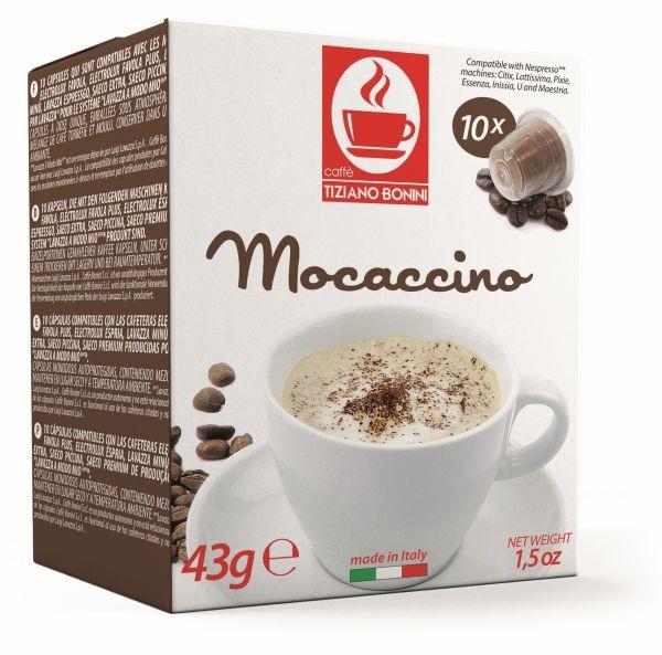 Caffè Bonini Mocaccino Kompatible Kapseln Nespresso ®*
