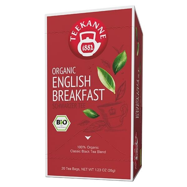 Teekanne PREMIUM ORGANIC ENGLISH BREAKFAST - 20 Teebeuel