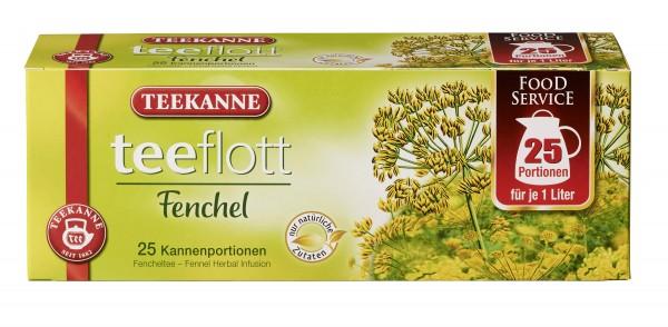 Teekanne Teeflott Fenchel Kannenbeutel 25 Stück
