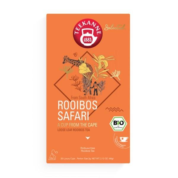 Teekanne Selected Rooibos Safari Luxury Cup - 20 x 2 g