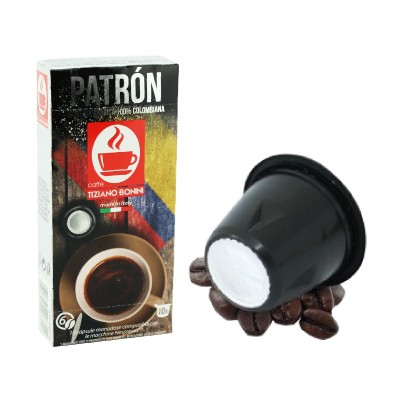 Caffè Bonini Patron Kompatible Kaffeekapseln Nespresso ®*