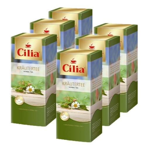 Cilia ® Tee Kräutertee 6 x 25 Teebeutel