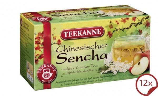 Teekanne Chinesicher Sencha 12 x 20 Beutel