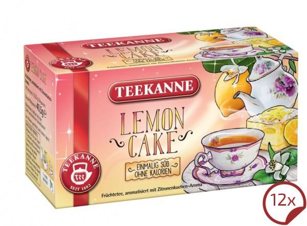 Teekanne Lemon Cake 12 x 18 Beutel