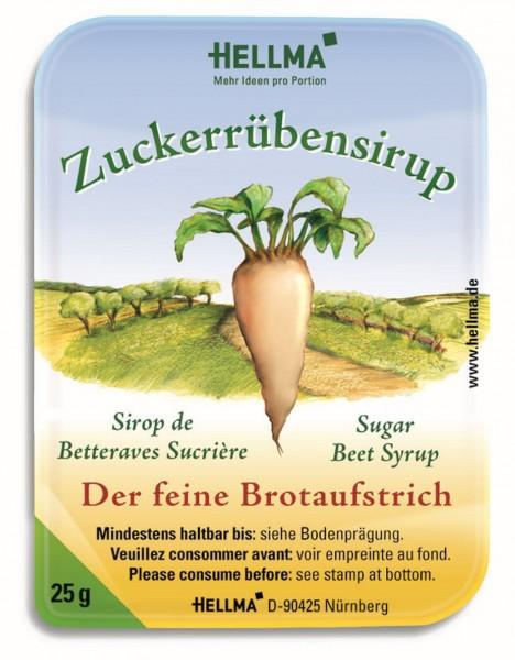 Hellma Zuckerrüben-Sirup - 100 Stück à 25 g