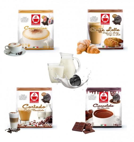 Caffè Bonini Probierset 5 Sorten Flavoured Dolce Gusto ®*