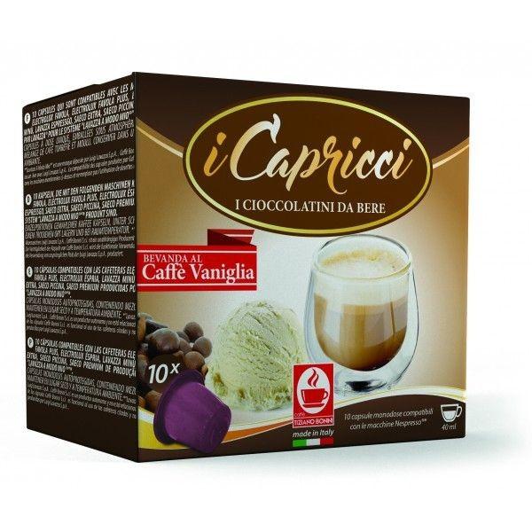 Bonini iCapricci Caffè Vaniglia / Vanille Kapseln Nespresso ®* - MHD: 01.02.2020