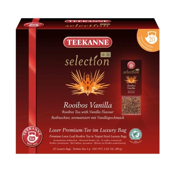 Teekanne Selection Rooibos Vanilla 20 Kannenportionen - MHD überschritten: 31.08.2020