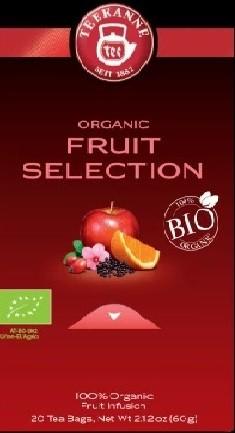 Teekanne Bio Früchte-Auslese / Organic Fruit Selection 10 x 20 Beutel