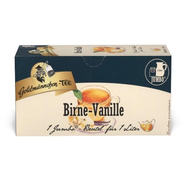 Goldmännchen Tee JUMBO Birne-Vanille - 20 Beutel
