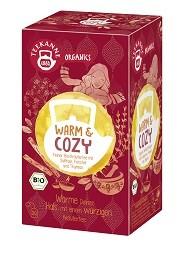 Teekanne Organics Warm & Cozy - 20 Teebeutel à 1,8 g