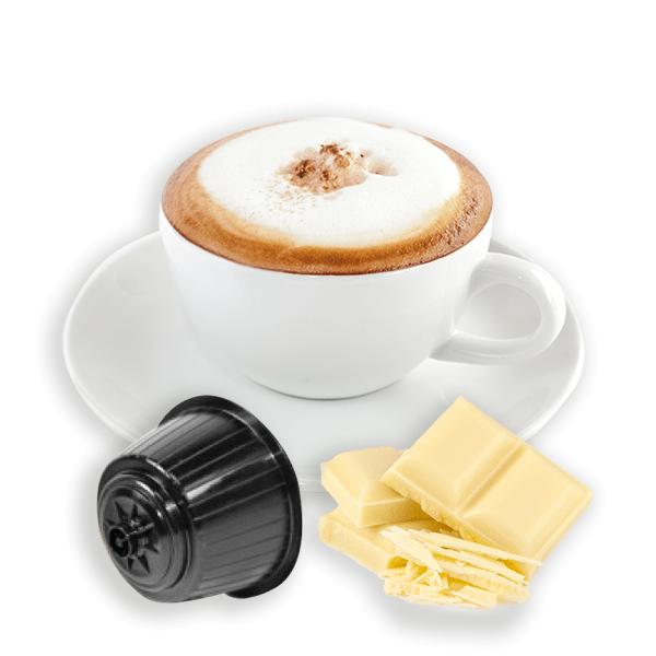 Caffè Bonini Weiße Schokolade/Cioccolato Bianco - 50 Kapseln Dolce Gusto®*-kompatibel **
