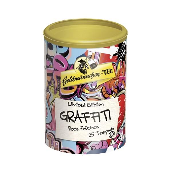 Goldmännchen Teepads GRAFFITI Rote Früchte - 25 Teepads