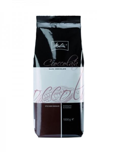 Melitta ® Cioccolata Style Dark Chocolate 1000 g - MHD: 31.03.2021