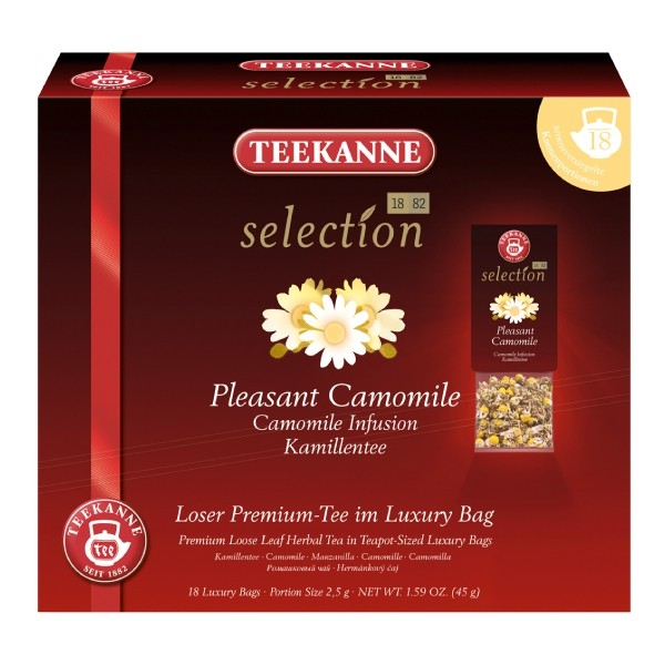 Teekanne Selection Pleasant Camomile 18 Kannenportionen (MHD: 31.08.2019)