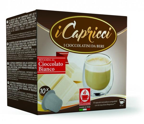 Bonini iCapricci Cioccolato Bianco/Weiße Schokolade Nespresso ®*
