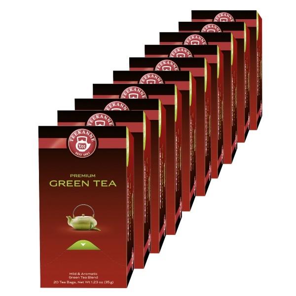 Teekanne Premium Grüner Tee - 10 x 20 Beutel
