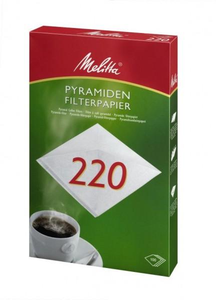 Melitta® Filtertüten 220 (Pa SF 220 G), 100 Stück
