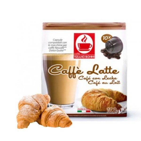 Caffè Bonini Caffè Latte / Café au lait - 10 Kaffeekapseln Dolce Gusto®*