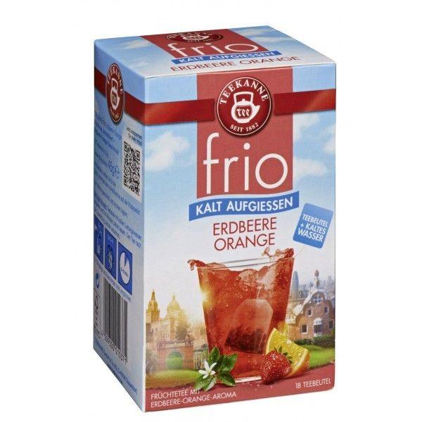 Teekanne FRIO Erdbeere Orange 18 Beutel **