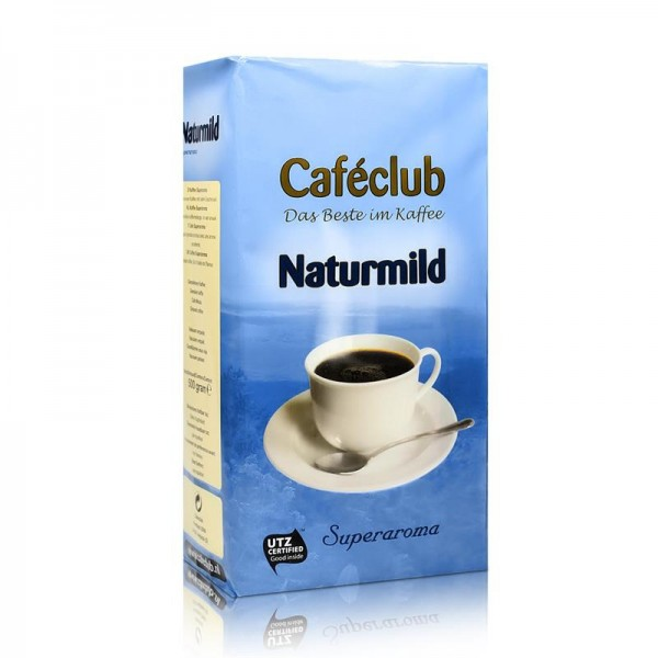 Filterkaffee Caféclub Naturmild 500g gemahlen