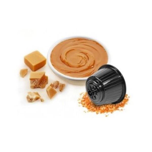Caffè Bonini LATTE MOU / Milch mit Karamell - 16 Kapseln Dolce Gusto®*-kompatibel