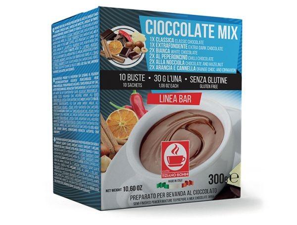 Caffè Bonini Cioccolata Mix 10 Beutel - MHD: 01.10.2020