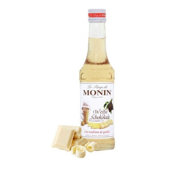 Monin-Sirup Weiße Schokolade