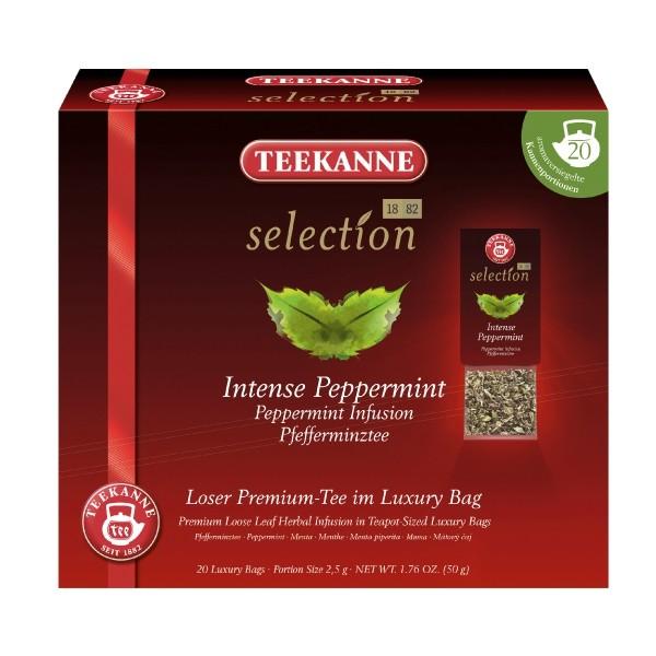 Teekanne Selection Intense Peppermint 20 Kannenportionen **