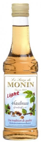 Monin-Sirup Haselnuss light