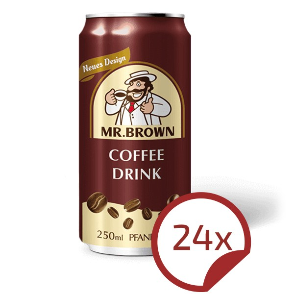 Mr. Brown CLASSIC Coffee-Drink 24er Pack
