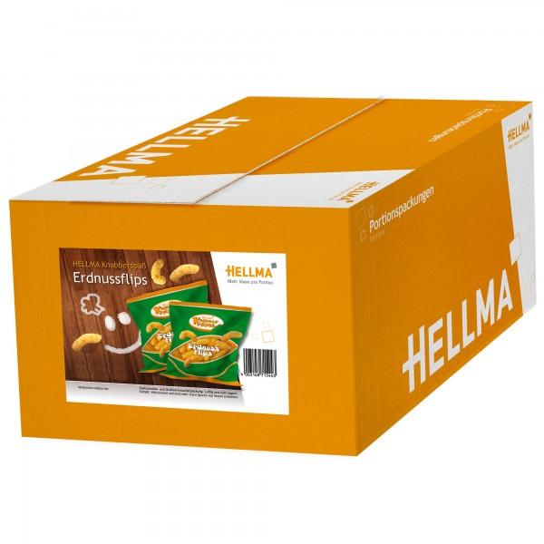 Hellma Knabberspaß Erdnussflips 80 x 8 g