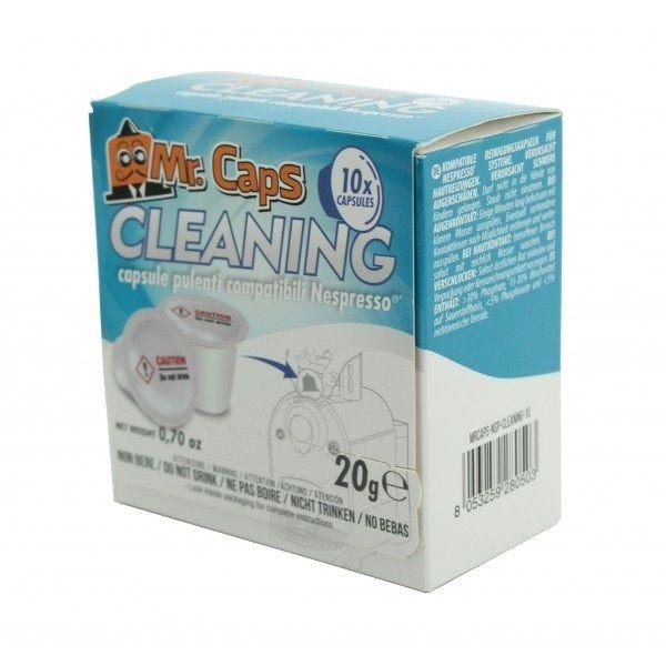 Mr. Caps Cleaning - 10 Reinigungskapseln - Nespresso® kompatibel