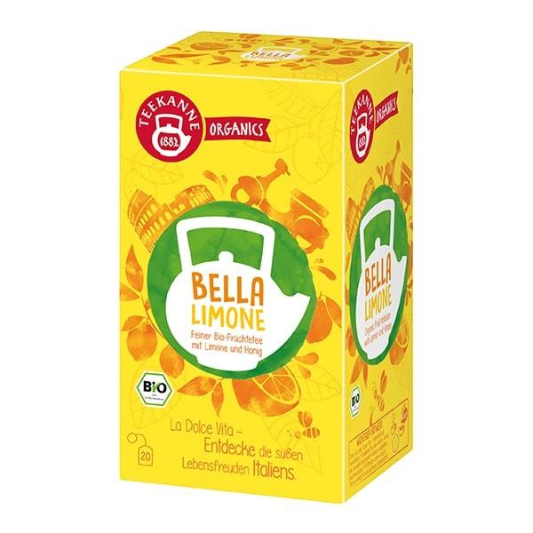 Teekanne Organics Bella Limone - 20 Teebeuel
