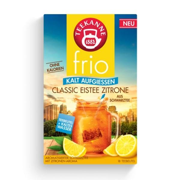 Teekanne FRIO Classic Eistee Zitrone 18 Stück