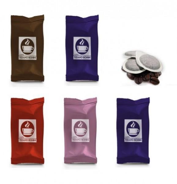 Caffè Bonini ESE Pads Probierset II - 5 x 10 Pads